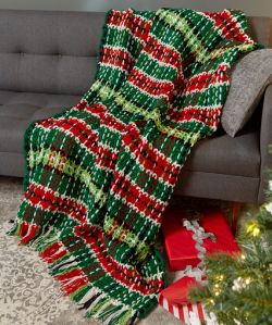 Plaid Christmas Blanket