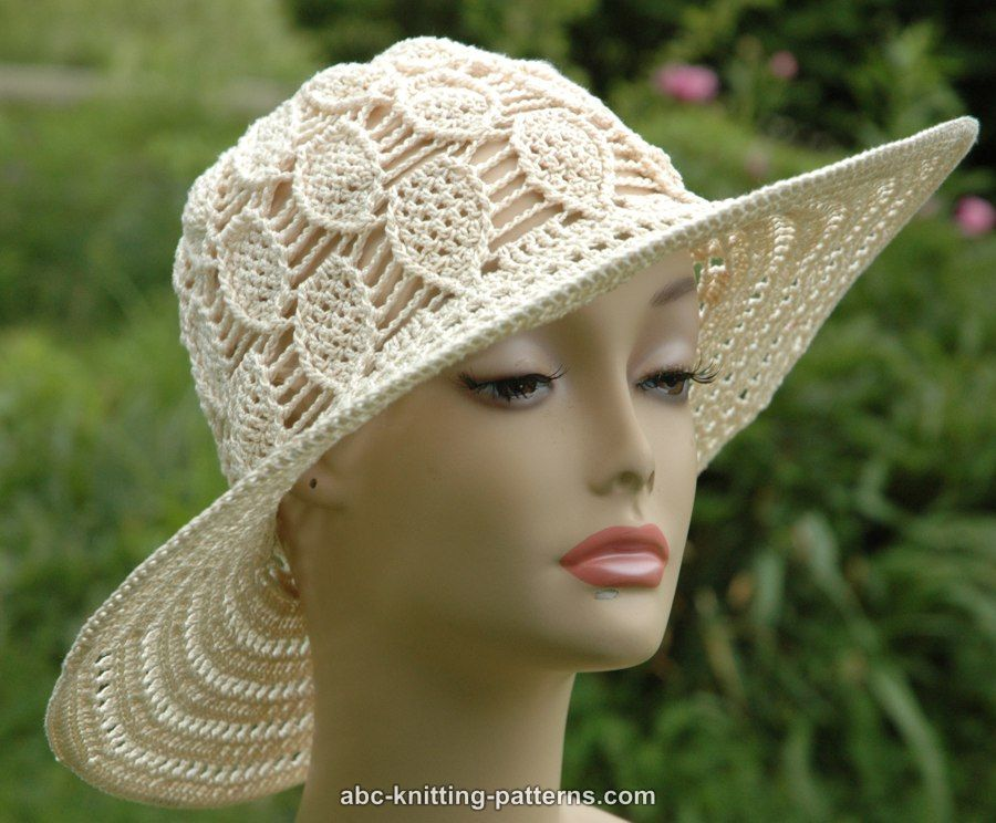 Crochet Patterns Galore Acorn Summer Brim Hat