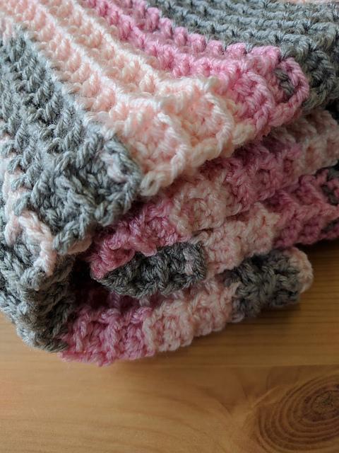 Crochet Patterns Galore Waffle Stitch Blanket