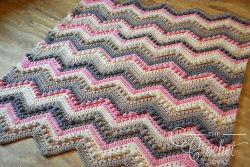Hugs and Kisses Baby Blanket