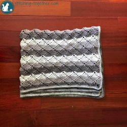 Diamond Lace Blanket