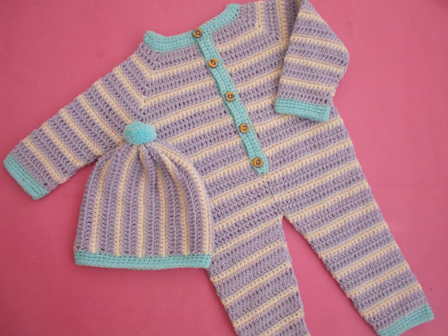 Crochet Patterns Galore Crochet Baby Romper Tutorial