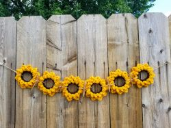 Upcycled Sunflowers