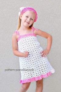 Summer Cheer Dress and Kerchief Set