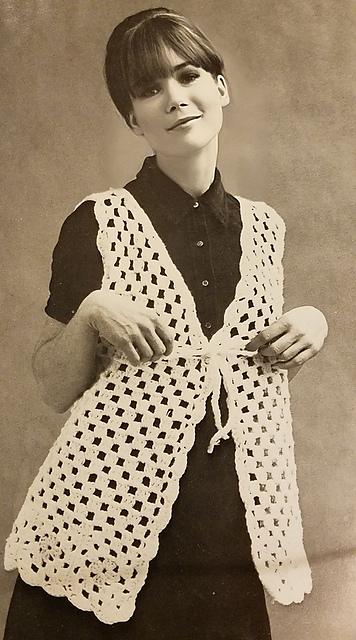 Crochet Patterns Galore Granny Vest