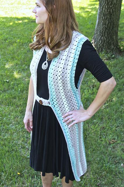 Crochet Patterns Galore Retro Duster Vest
