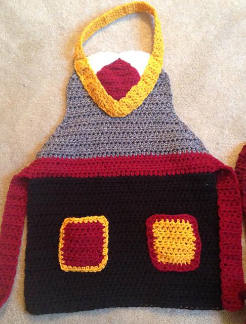 Crochet Patterns Galore Harry Potter Apron