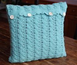Cable Pillow Cover