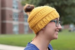 3 mL Messy Bun Beanie