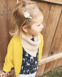 The Toddler Crochet Cowl