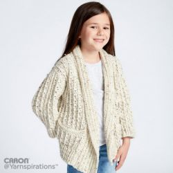 Crochet Chill Time Child's Cardigan