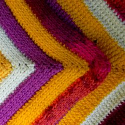 In a Flash Mitered Corners Blanket