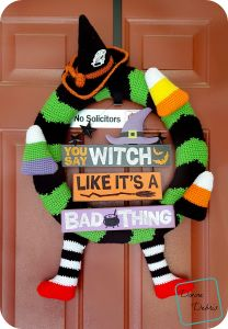 Too Cute Halloween Wreath