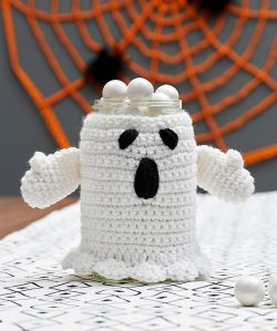 Spooky Ghost Jar Cozy
