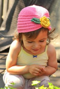 Toddler Turban with Flower