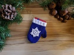Mitten Ornament/Gift Card Holder