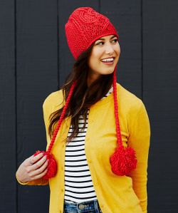 Entwined Chic Cable Hat