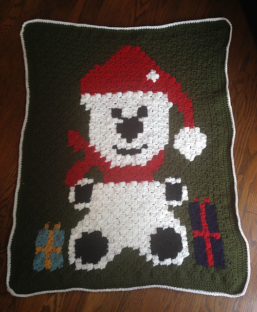 Crochet Patterns Galore Polar Bear Blanket