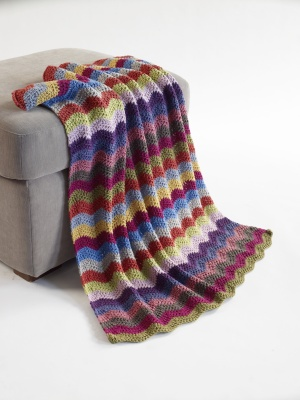 Crochet Patterns Galore Free Baby Ripple Afghan