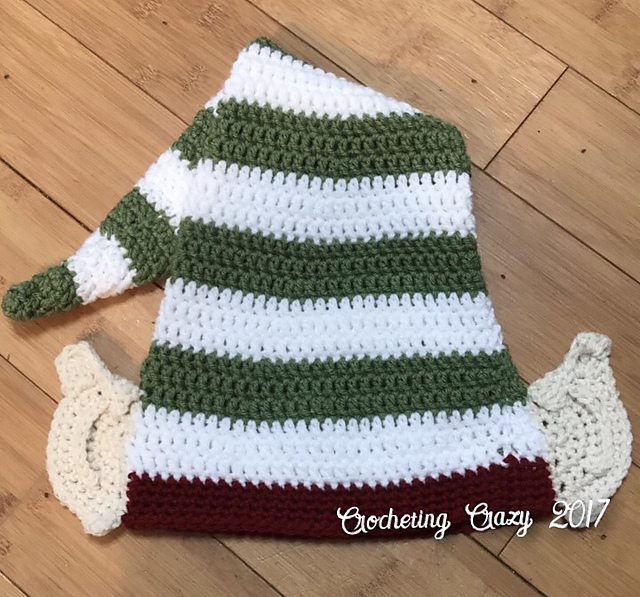 Crochet Patterns Galore Christmas Elf Hat