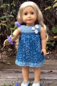 American Girl Doll Summer Stream Dress
