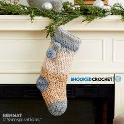 Pop! Crochet Christmas Stocking