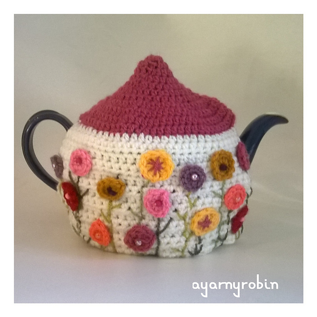 Crochet Patterns Galore Grandma Dot Tea Cosy