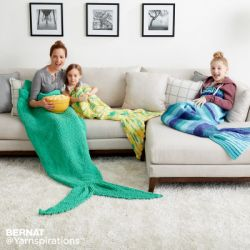 Mermaid Tail Snuggle Sack