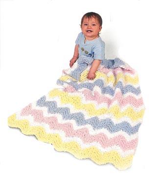 Crochet patterns galore free baby ripple afghan free baby ripple afghan dt1010fo