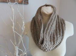 One Stitch Cowl Quick and Easy