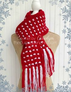 Block Stitch Scarf