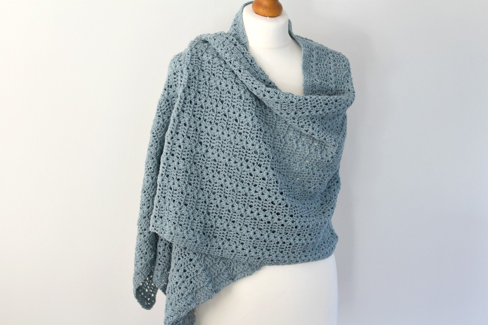 Crochet Patterns Galore Naya Shawl