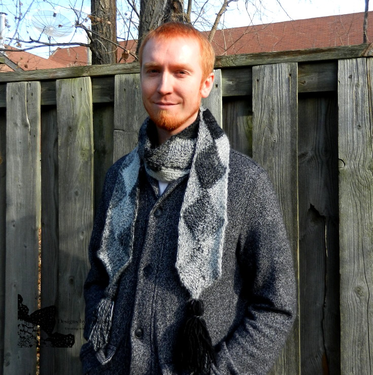 Crochet Patterns Galore Etching Scarf