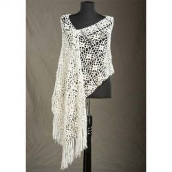 Laurel Crocheted Stole