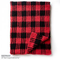Buffalo Plaid Afghan