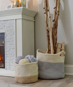Color-Block Storage Baskets
