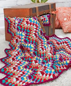 Throw-back Granny Chevron