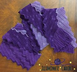 Ombre Lightning Scarf