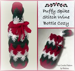 Puffy Wine Bottle Cozy