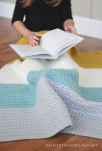 Color Block Blanket