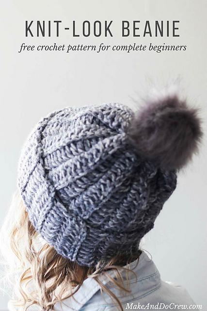 Crochet Patterns Galore - 1.5 Hour Beanie