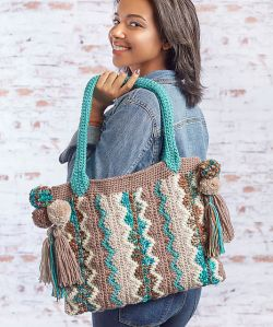 Flame Stitch Bag
