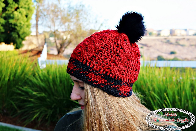 Crochet Patterns Galore Knit Like Cable Hat