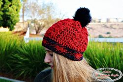 Knit-like Cable Hat