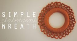 Crochet: Simple Statement Wreath
