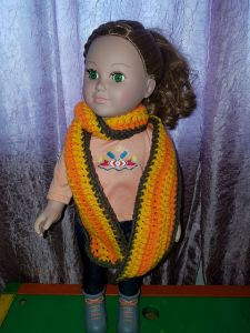 "18"" doll scarf (vertical)"