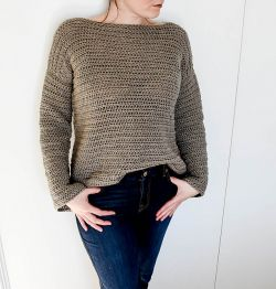 Bell Crop Sweater