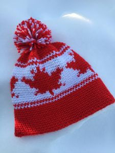 Maple Leaf Toque