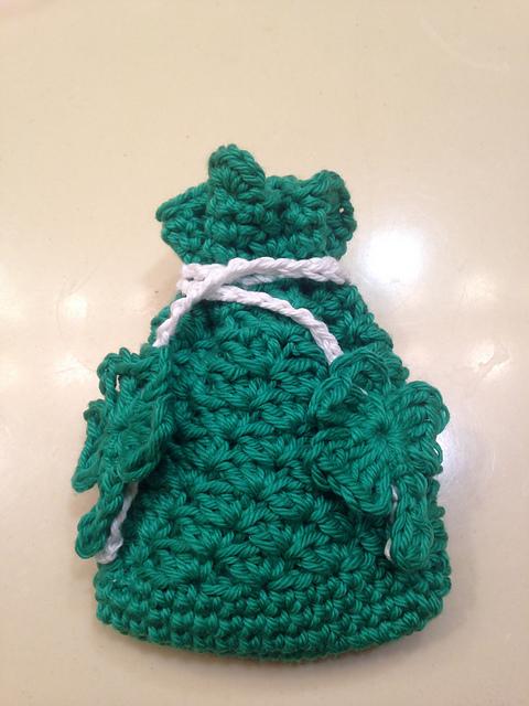 Crochet Patterns Galore Luck Of The Irish Soap Saver