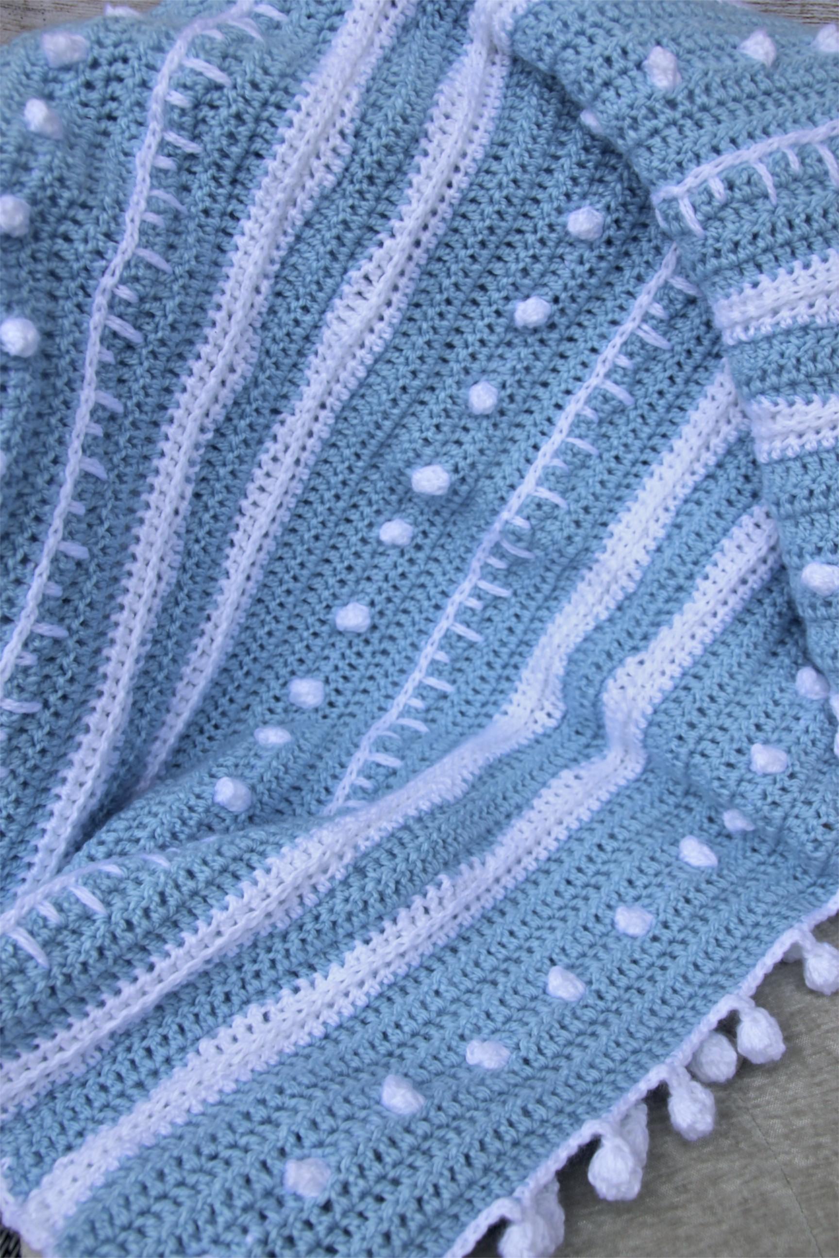 Crochet Patterns Galore Winter Rhapsody Lap Blanket